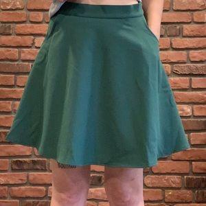 ModCloth a-line skirt WITH POCKETS